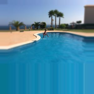 Photo for Cabo Roig beachside apartment ideal for families