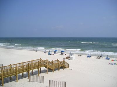 Photo for DIRECT GULF VIEW FROM BALCONY / 2BR/2BA / 9th Floor/Reserved Covered Parking