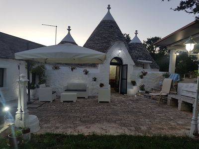 Photo for TRULLI IN VALLE D'ITRIA WITH FREE WIFI