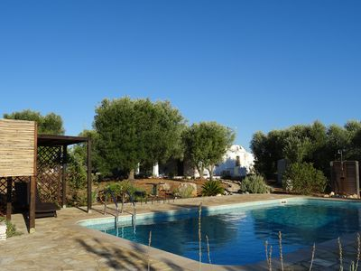 Photo for Peaceful retreat with modern comforts in the hills of Ostuni. Private pool /WIFI