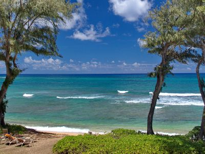 Photo for #328 - Direct Oceanfront Kauai Rental By Owner Ocean View FREE WiFi Parking A/C