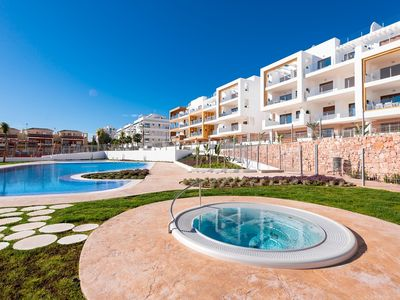 Photo for Heavenly Apartment in Orihuela Costa with Swimming Pool