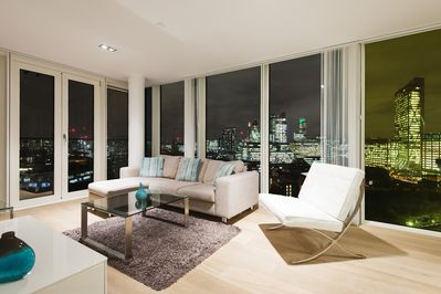 Living room with great views