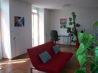 Photo for Spacious and bright apartment in the historic center of Foix.