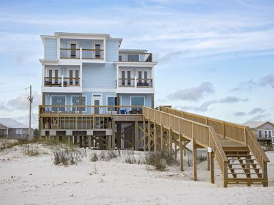 Photo for Gulf Front ~ Private Pool ~ Sleeps 25 ~ Happy Our Beach House