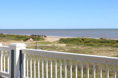 Photo for Beach front Property located in the popular subdivision of Gulf Shores located in Crystal Beach, Texas - Awesome View