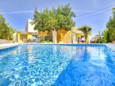 Photo for Calpe Villa, Sleeps 6 with Pool, Air Con and WiFi