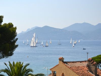 Photo for F3 with sea view 100m from the beach of the Midi