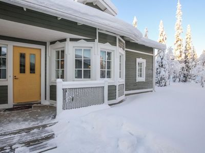Photo for Vacation home Rukan taikavuosselin helmi 8 a in Kuusamo - 8 persons, 2 bedrooms