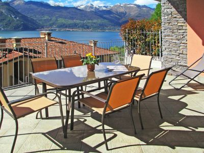 Photo for Apartment Residence Riflessi Di Lago (DOX140) in Dorio - 5 persons, 2 bedrooms