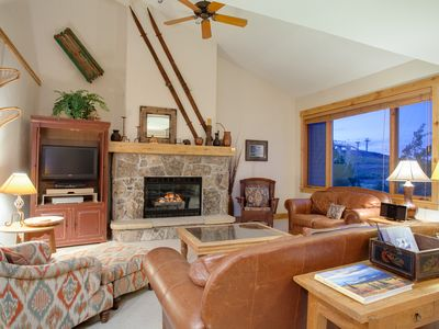 Photo for Huge Luxury Slopeside Home  w/Pool & Hot Tub- Direct access to Hiking/Bike Trail