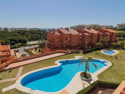 Photo for Sunny 3 bedroom apartment with Terrace in Mijas (C33)