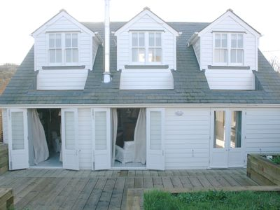 Photo for The Grey House- Stunning house less than one minute walk Camber Sands Beach