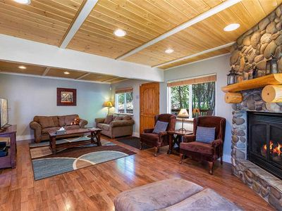 Photo for Charming Cabin at the Base of Heavenly Mountain with a Private Hot Tub (HV01)