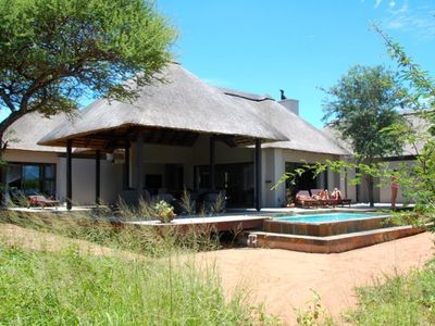 Photo for Luxury villa on game reserve in Kruger Park - an unforgettable experience!