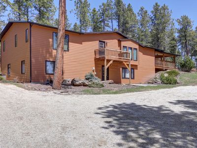 Photo for Very Private 6 Bedroom Cabin 10 Miles South Of Deadwood!