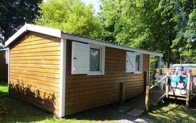 Photo for Camping L'Etang du Pays Blanc *** - Chalet 3 Rooms 5/7 Persons