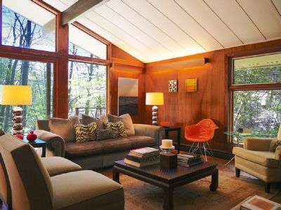 Photo for Waterfront Mid-century Modern Gem Surround by Forever Wild Land