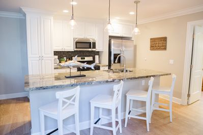 Kitchen has all the upgrades!  Granite counter tops & stainless steel appliances