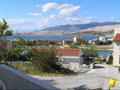 Photo for Apartment Here  A(2+1) 1. KT  - Pag, Island Pag, Croatia