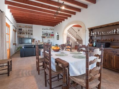 Photo for Vacation home Can Toni i Monica in Lloseta - 7 persons, 3 bedrooms