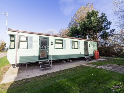 Photo for 6 berth caravan for hire at Broadland sands holiday park in Suffolk ref 20373