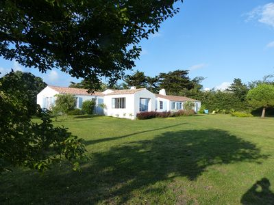 Photo for Rental of a house the Ile d'Yeu. 100 m from the sailing club. 2500m2