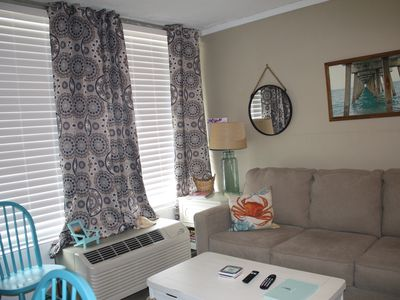 Photo for Fantastic remodeled,ground level Condo Unit 133,pool side, Beach/Sound Access