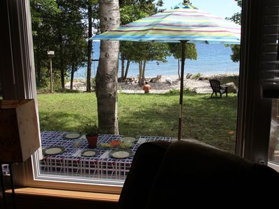 Photo for Sweet Maple B.T.B - Cozy Cottage On Georgian Bay In Very Private Cape Chin South