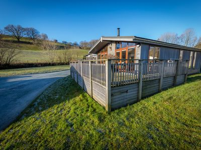 Photo for Organic 5 Star Cedar Lodge With Stunning Views Across Esthwaite Water