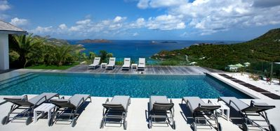 Villa Wine Note -  Ocean View - Located in  Exquisite Saint Jean with Private Pool