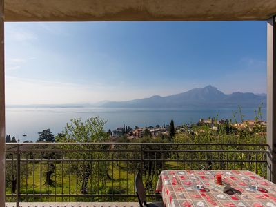 Photo for 2BR Apartment Vacation Rental in Torri del Benaco