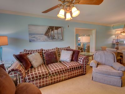 Photo for Lovely Condo w/Private Patio, Pool, Tennis, Private Beach Access, & More!