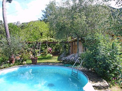 Photo for 2 bedroom Villa, sleeps 4 in Bergiola Foscalina with Pool, Air Con and WiFi