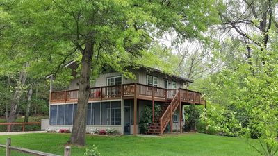 Photo for Creekside Haven, fire pit along bold rushing creek, easy access, cable & WiFi, close to everything.