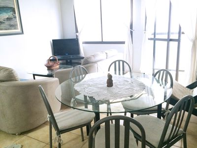 Photo for Apt 3 bedrooms and 1 beach side suite - 1 suite