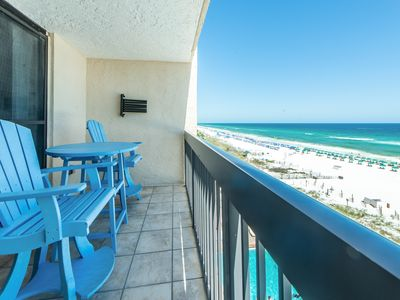 Photo for ☀SunDestin 707☀ Beachfront Views! In&Outdoor Pool-UPDATED! Aug 4 to 7 $951 Total