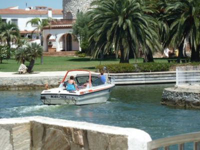 Photo for Fisherman's house for 8 people with private mooring pretty view on Marina and wifi