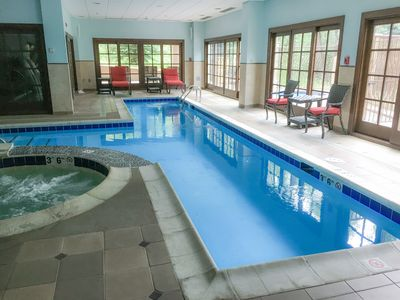 Pool - Enjoy access to resort-style amenities, including an indoor pool and hot tub.