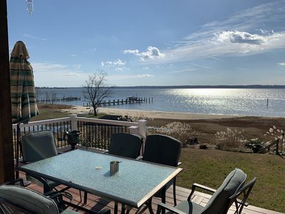 Photo for Waterfront riverhouse on a beautiful farm only 50 minutes from DC