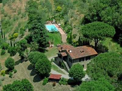 Photo for 3 bedroom Villa, sleeps 8 in Orzale with Pool and WiFi