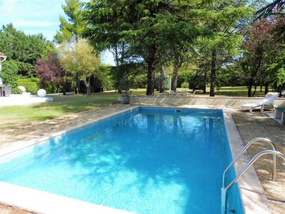 Photo for Near Aix-en-Provence, beautiful villa with swimming pool on 4000m2 of land