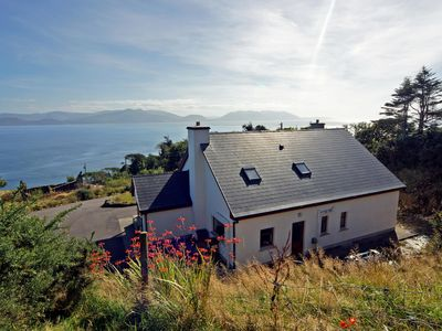 Photo for Fine detached dormer bungalow, in superb quiet and secluded location on slopes of the Slieve M…