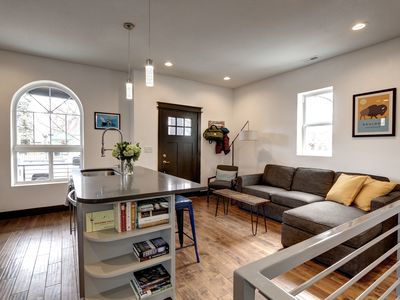Photo for Furnished Rental + Nurse Specials ★ Modern Bungalow in RiNo ★ Airport Train