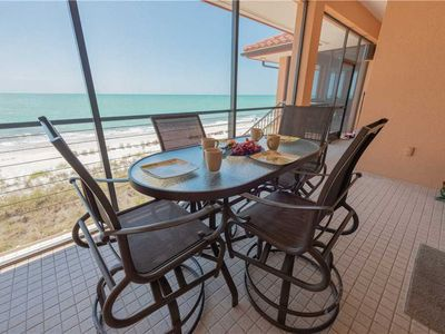 Photo for Gulf Front Condo with September Specials at Bradenton Beach Club Unit F!!