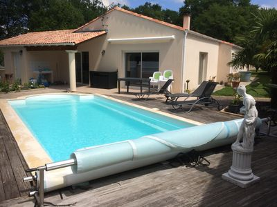 Photo for VILLA + HEATED POOL in CHARENTE MARITIME