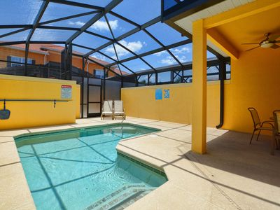 Photo for GATED RESORT COMMUNITY, FREE WIFI, SOUTH FACING, PRIVATE SCREENED POOL!!!