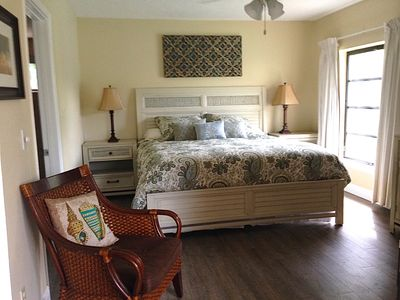 Master King Bedroom Suite with own private new bathroom