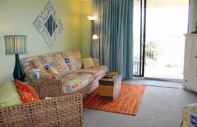 Photo for COZY, CUTE LAGOON FRONT UNIT,  GREAT WATER AMENITIES, GREAT FOR KIDS