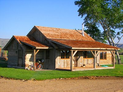 Photo for Ranch cabin on operating cattle ranch S. of Twin Bridges.